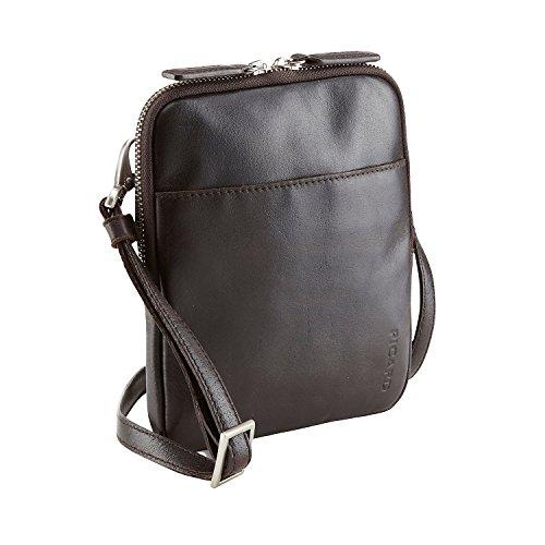 6287bd206ac42 Picard Buddy Mini Bag Umhängetasche Leder 16 cm Cafe -decodomus ...