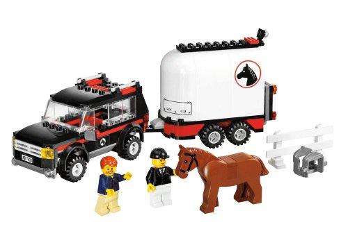 Imagen 3 de LEGO City 7635 - Transporte de caballos [versión en inglés]