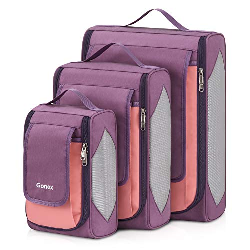 Große Packtasche, Gonex Business Packing Cubes 3 Farbauswahl Kleidertaschen -