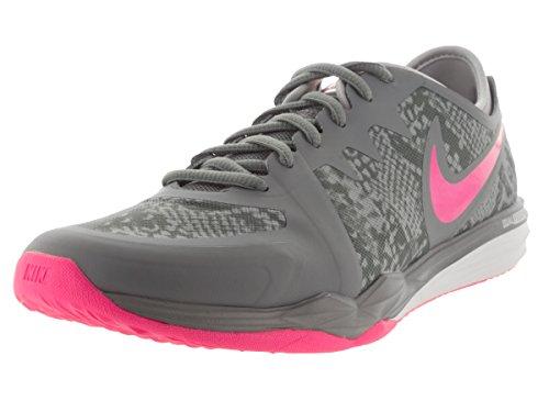 Nike Damen W Fusão Dupla Tr 3 Impressão Turnschuhe Arrefecer Cinza Pow Rosa Cinza / / Lobo