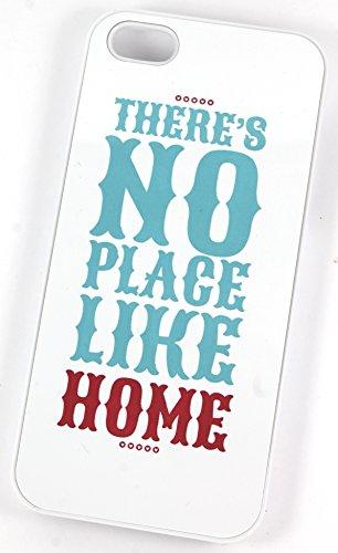 There's No Place Like Home Wizard of Oz (Citation Coque rigide en plastique pour iPhone 5/5S Blanc/motif)