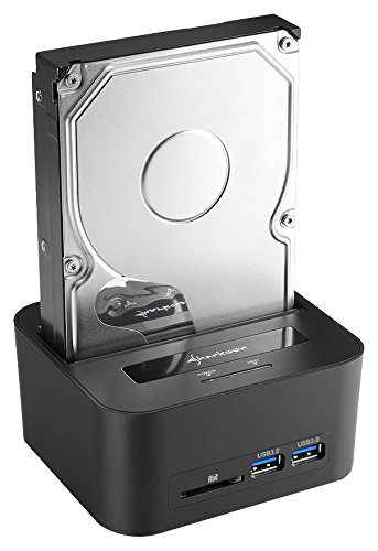 Sharkoon Quickport XT HC Pro HDD Docking Station schwarz Quickport Single