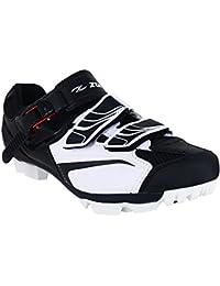Zol blanco MTB Zapatillas de deporte para ciclismo, 40