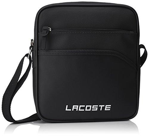 Lacoste Sac Homme Access Basic, Porté Épaule, Noir (Black), 26.5x5.5x23.5 cm (W x H x L)