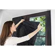kenley cortina opaca termica porttil para ventana habitacion cuarto del beb y nios persianas blackout