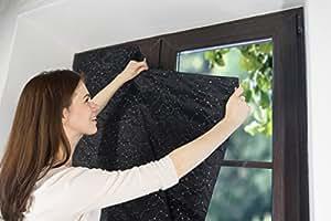 Kenley Portable Blackout Blinds Pop Up Window Blackouts