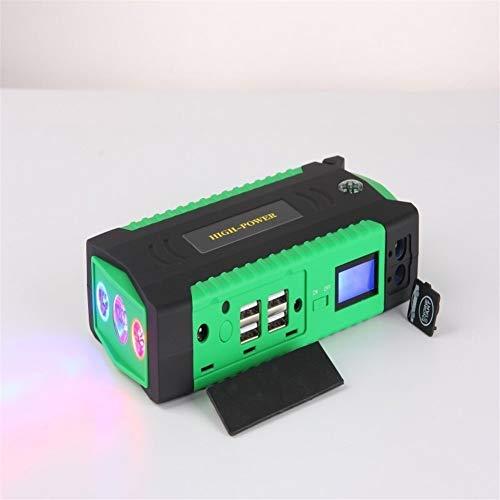 PQTIL Avviatore Batteria Auto Booster avviamento emergen Motorino di Avviamento for Auto , Alimentatore di Emergenza for Auto Multifunzione for Auto 12V Mobile Inizia A Caricare Batteria del Tesoro