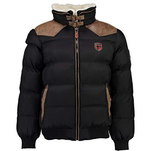 Geographical Norway Chaqueta Hombre ABRAMOVITCH Negro S