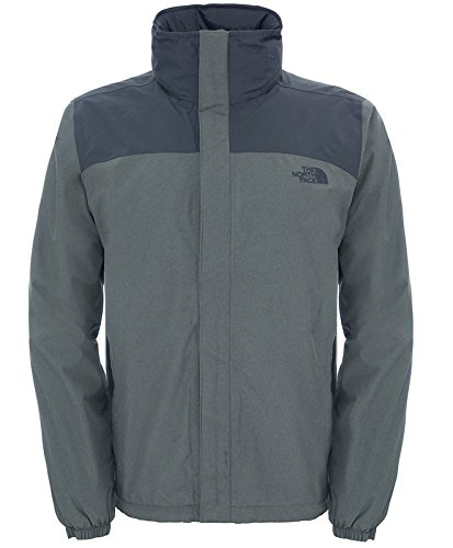 The North Face M Resolve Giacca isolante, Uomo Grigio (Fuseboxgreyhthr)