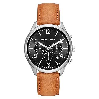 Michael Kors Reloj Cronógrafo para Hombre de Cuarzo con Correa en Cuero MK8661