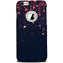 Yashas® High Quality Designer Printed Case & Cover for Iphone 6 / Iphone 6S With Logo cut [Stars]