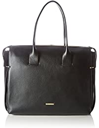 Calvin Klein Victori4 Large Tote, Cabas femme, Schwarz (Black), 14x27x36.5 cm (W x H D)