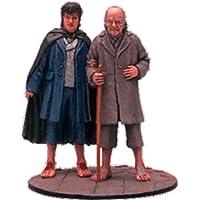 Figura di piombo Il Signore degli Anelli. Lord of the Rings Collection Nº 82 Frodo And Bilbo At The Grey Havens