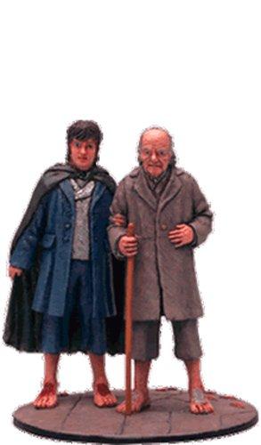 Lord of the Rings Señor de los Anillos Figurine Collection Nº 82 Frodo & Bilbo 1