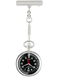 Charles-Hubert 2C Paris Charles-Hubert, Paris Unisex 6901-B Classic Collection Analog Display Japanese Quartz Silver Pocket Watch