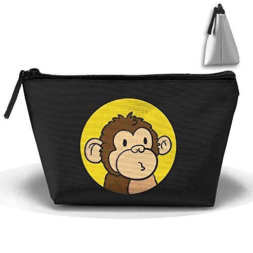 Borsa per il trucco della toilette di Monkey Oxford Borsa per il trucco della toilette da donna