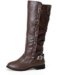 Mujer Zapatos esBotas Caña Ancha 39 Amazon Para bvfg6yYmI7