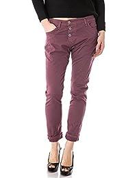 PLEASE - P78a m07 femme jeans pantalon baggy color