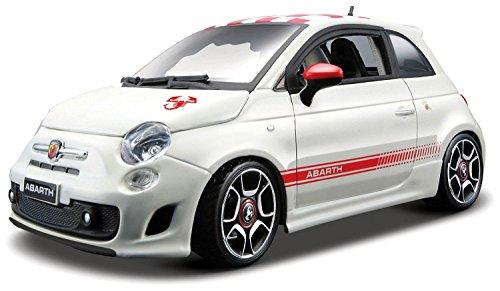 bburago-22111r-vehicule-miniature-modele-a-lechelle-fiat-500-abarth-echelle-1-24-coloris-aleatoire