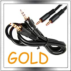 Gold Turtle Beach X11 Microphone Replacement Lead