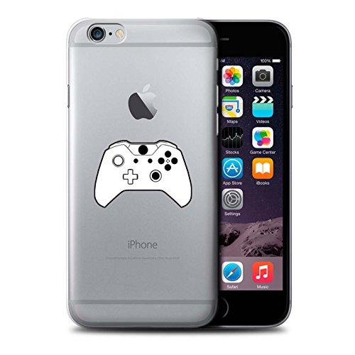Stuff4 Hülle / Case für Apple iPhone 6S / Weiß N64 Muster / Spielsteuerung Kollektion Weiß Xbox One