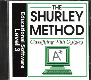 The Shurley Method Classifying with Quigley Educational Software, Level 3 (Shurley English Homeschooling, 3) by Brenda Shurley (2000-08-02)