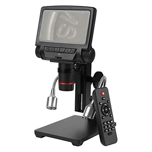 PCB Repair Mikroskop, 5 Zoll High Definition Digital HDMI Lupe mit Fernbedienung für die Reparatur von Leiterplatten(EU) High-definition-video-filter