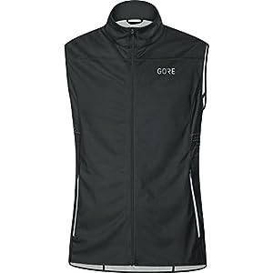 Gore Wear Men's R5 Windstopper Running Vest - Black, X-Large