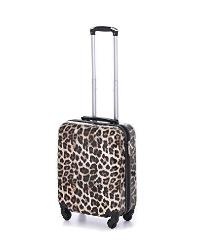 Super leggero abitacolo Approvato guscio duro di PC di viaggio dei bagagli Wheelie Bag valigia trolley cabina Approvato caso 50x40x20 Easyjet Ryanair AirDolomiti Alitalia