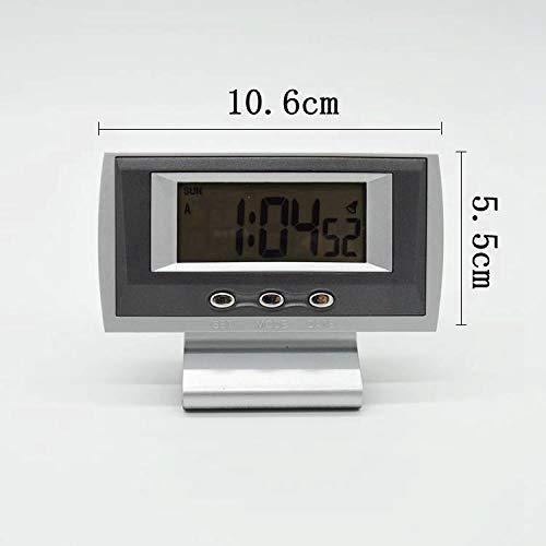ASUAW Auto Elektronische Uhr Auto Elektronische Uhr Mini Desktop Elektronische Uhr Kleine Wecker Test Bewegung