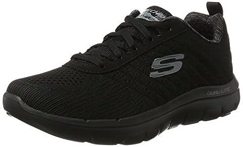 Skechers Men Flex Advantage 2.0 Multisport Outdoor Shoes, Black (Bbk), 8 UK 42 EU