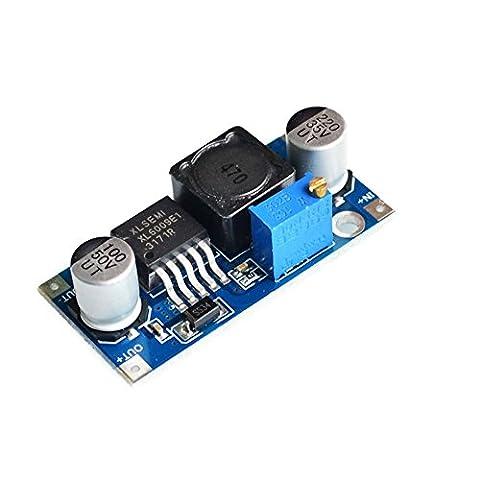 SUNLEPHANT@XL6009 step-up module DC-DC power supply module output adjustable adjustable LM2577 4A current