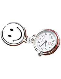 ufengke® edelstahl medizinische smiley krankenschwester armbanduhren-weiß
