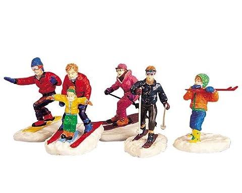 Lemax - Winter Fun Figurines Set Of