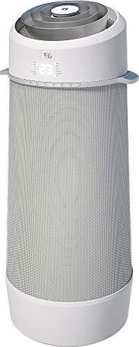 AEG PX71-265WT Eco mobiles Klimagerät (Spiralförmiger Luftstrom, App-Steuerung, Fernbedienung, inkl. Fenster-Kit, Kühlfunktion, Heizfunktion, Ventilator, Entfeuchtungsfunktion, Automatik, weiß/silber)