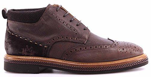 Scarpe Uomo Alla Caviglia LA MARTINA L2026174 Lord Moka Ankle Boots Italy Nuovo