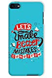 #10: Sankee Case Cover for Apple iPod Touch 6th Gen Mobile Phone Quotes/Typography Multicolor Protective Case Cover Accessory IPODT6CLSADA165