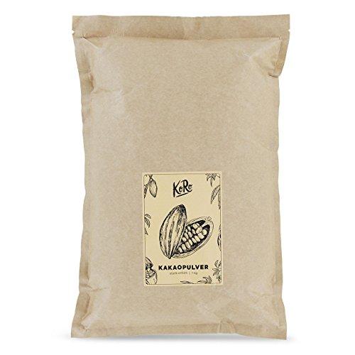 Bio Kakaopulver ● Stark Entölt ● Aus Kontrolliert Biologischem Anbau ● 1 kg Vorratspackung ● KoRo
