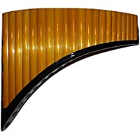 Tubos de profesional 21Soprano Flauta de Pan–Q 'awary–incluye funda