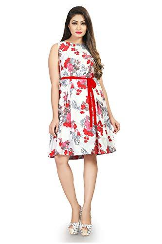 New Ethnic 4 You Women'S Multi-Coloured Dresses(Frk001-M_Multi-Coloured_Medium)