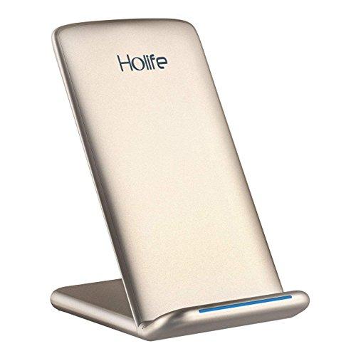 Caricatore Wireless, Holife 10W Qi Autenticare...