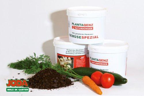 2,5KG JODA Plantaqenz-Gemüsedünger 100% granulierter Pferdemist (1,99 €/Kg) ÖKO