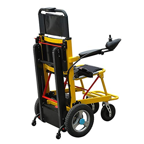 DYHQQ Scooter de Movilidad 350 lbs-Elevador de escaleras eléctrico - Ayuda de Movilidad Plegable eléctrica- Puede ser como Dispositivos de...