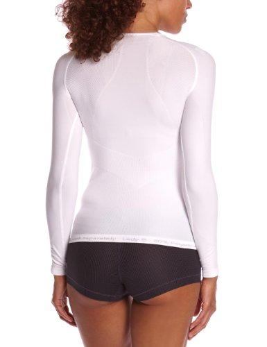 Odlo Evolution Warm T-Shirt manches longues Femme Blanc