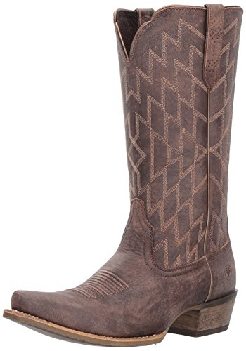 Ariat Stiefel Heritage Southwestern X Toe Braun | 40 Stiefel Ariat ' Bekleidung