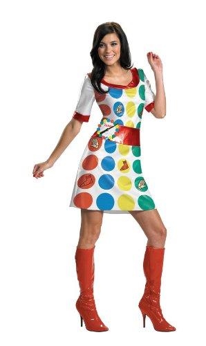 Kost-me f-r alle Gelegenheiten Dg25667N Twister Adult (Spiel Twister Kostüm)