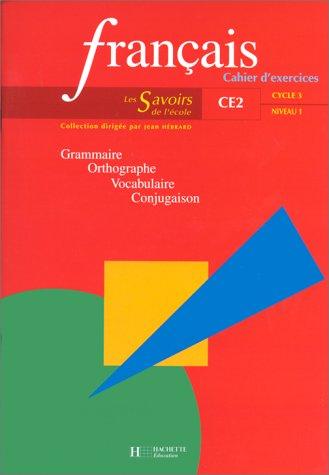 Français, CE2. Cahier d'exercices