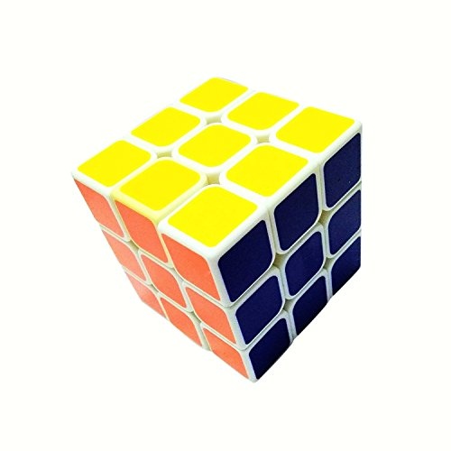 JKM Magic Cube 3x3x3 White Stickerless Rubik's Cube- ABS Safe Puzzle Educational Toy Challenging Speed Multicolor Magic Rubik's Cube- For Boys and Girls  available at amazon for Rs.249