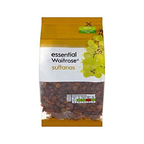 Sultanes Essentielle 500G Waitrose - Paquet de 4