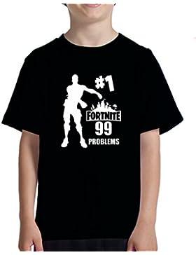 Acokaia Camiseta Niño Fortnite 99 Problems